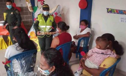 Las mujeres de la fuerza pública en Sucre