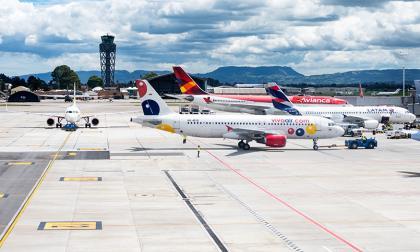 Colombia, tercer país de la región en recuperar su conectividad aérea
