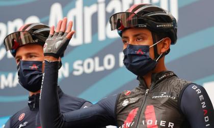 Egan Bernal y Nairo Quintana, protagonistas en la Tirreno Adriático