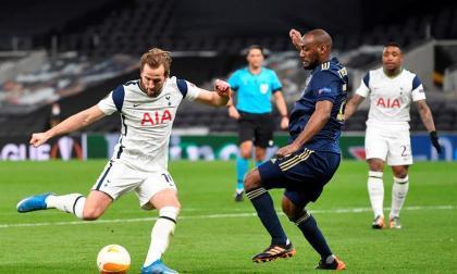 Kane pone al Tottenham con pie y medio en los cuartos de final