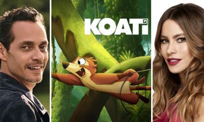 """Marc Anthony se une a la película animada """"Koati"""" de Sofía Vergara"""