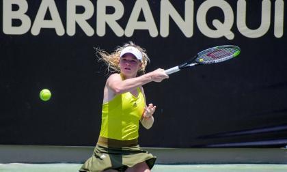 Madison Sieg, con sangre tenista, pisa fuerte como número uno en el Mundial