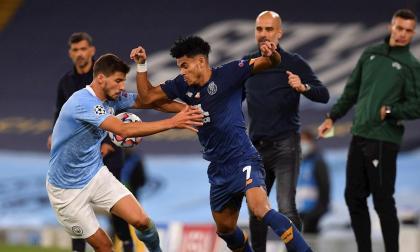 Luis Díaz, el único que le ha anotado al Manchester City en Europa