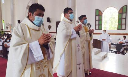 El Obispo de Sincelejo ordenó tres sacerdotes