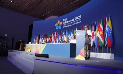 Alberto Carrasquilla, presidente de las Asambleas del BID