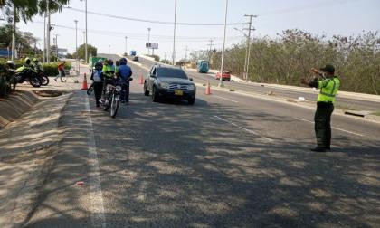 19.103 vehículos salieron de Barranquilla este puente festivo