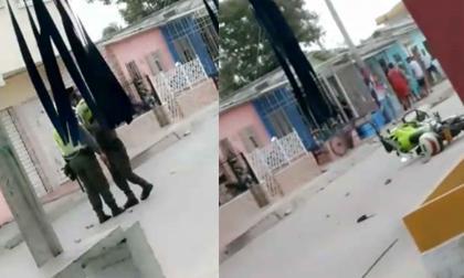 Joven resulta herida a bala en medio de un procedimiento policial