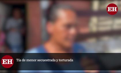 """""""Queremos justicia por lo que le hicieron"""": tía de menor torturada"""