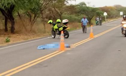 Hombre muere arrollado por vehículo en la vía Carraipía – Albania, La Guajira