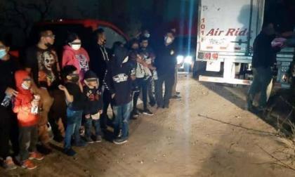 Detienen 52 extranjeros que ingresaron ilegalmente a Colombia, 14 son menores