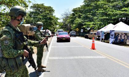 La Armada Nacional garantiza seguridad en las vías del Caribe