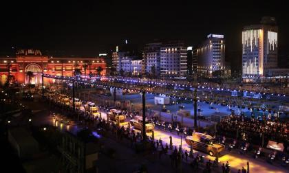 El espectacular desfile para transportar a 22 momias en Egipto