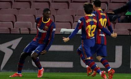 Barcelona venció al Valladolid por 1-0