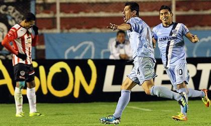 El primer partido entre Junior y Bolívar en La Paz, en la Copa Libertadores 2012