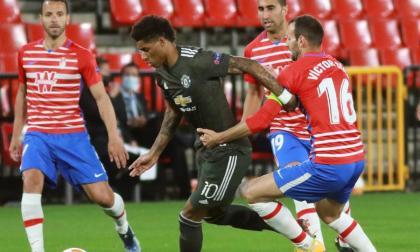 Manchester United derrotó al Granada