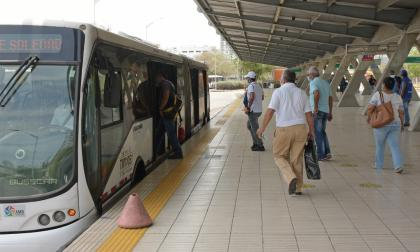 Transmetro operará hasta las 6 p. m. este fin de semana