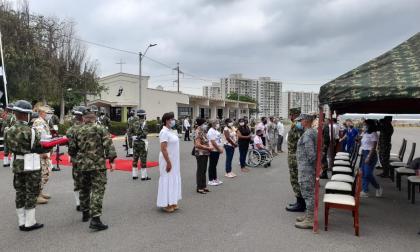 Autoridades rinden homenaje a las víctimas del conflicto armado