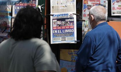 Presidencia de Perú en suspenso