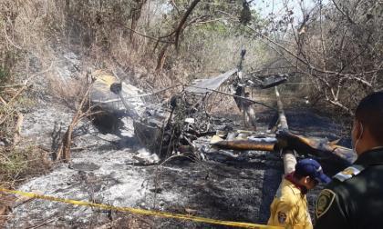 Avioneta se estrelló en Ciénaga, Magdalena
