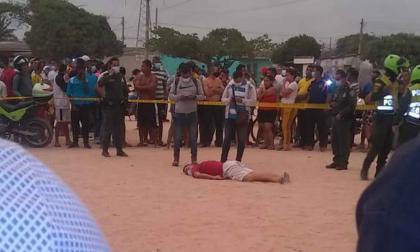 Asesinan a tiros a un hombre en un barrio de Soledad
