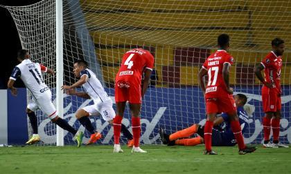 La derrota de América 2-0 ante Cerro Porteño en Copa Libertadores