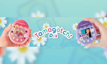 Tamagotchi vuelve renovado con cámara y botones táctiles