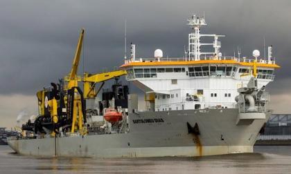 Draga Bartolomeu Dias volverá al puerto el 9 de mayo