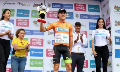 José Hernández lidera la Vuelta a Colombia