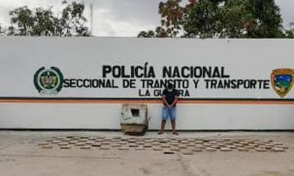 Incautan 108 kilos de cocaína y capturan a una persona en Dibulla