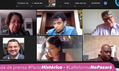 Partidos de oposición piden el retiro o archivo de la reforma tributaria