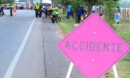 Cesar, segundo en el país con más muertes en las carreteras