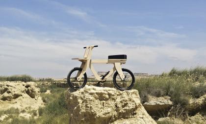 Openbike, bicicleta de madera que podrá imprimir en 3D