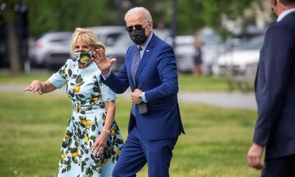 Biden celebró sus primeros 100 días de Gobierno en Georgia