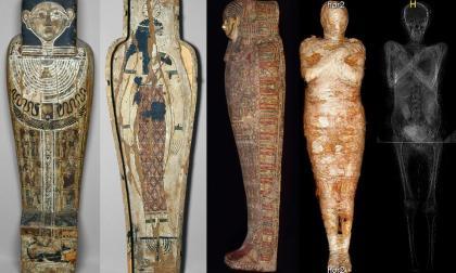 Hallan primer caso de embarazo en una momia egipcia
