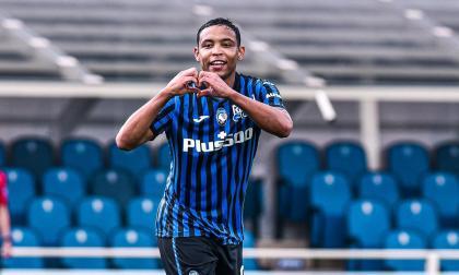 Luis Fernando Muriel, mejor jugador del 'Calcio Italiano' en el mes de abril