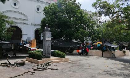 Comunidad indígena en Montería dice que no se va del territorio hasta tener una solución