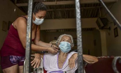La lucha de Suan por tener el virus lejos de su casa