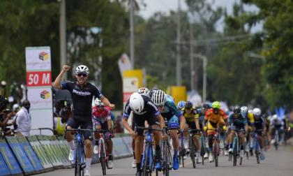 El colombiano Brayan Sánchez, Tour de Ruanda