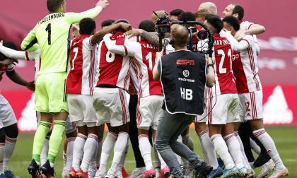 El Ajax campeón en la Eredivisie