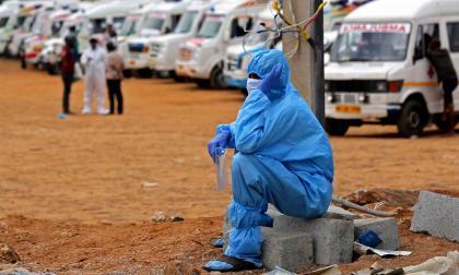 India roza los 20 millones de contagiados por covid-19