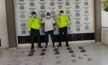 Decomisan 14.420 dosis de marihuana en Valledupar