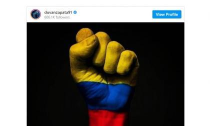 Futbolistas se expresan sobre situación de Colombia