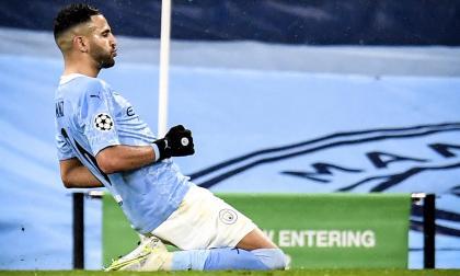 Mahrez dice que el Manchester City tiene solidez defensiva