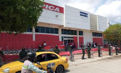 Vigilancia en Santa Martas tras noche de desmanes