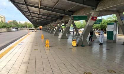 Suspensión del servicio de Transmetro