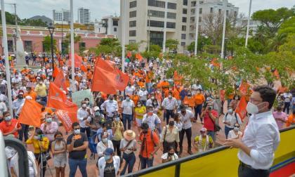 Caicedo ante investigación de Procuraduría por participación en protestas