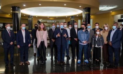 Reunión de gobernadores de Colombia con el presidente Iván Duque