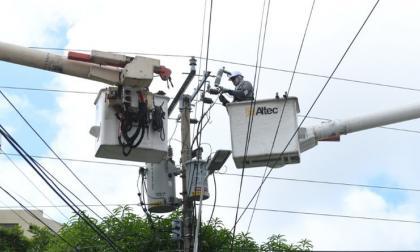 Sin luz en Los Andes, San José y El Bosque por trabajos de Air-e