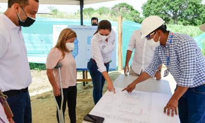 Alcantarillado en barrio Nuevo Horizonte de Soledad avanza en 95%
