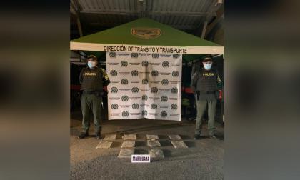 Decomisan marihuana que era transportada como encomienda en Montería